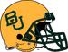 NCAA-Big 12-Baylor Bears Gold helmet