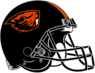 NCAA-PAC12-Oregon State Beavers helmet-black