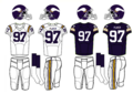 NFL-NFC-1980-84 MIN- Viking Jerseys