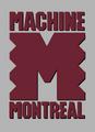 WLAF-Montreal machine grey logo