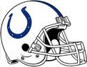 NFL-AFC-IND Colts Helmet-White Facemask