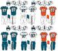 NFL-AFC-MIA-1997-2012 uniforms