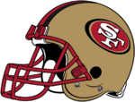 NFL-NFC-1995-2008 SF 49ers Helmet-Right side