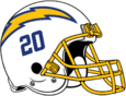NFL-AFCW-2020-LA Chargers Alt Helmet - Royal Blue logo