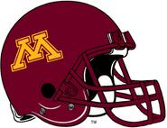 NCAA-Big 10-Minnesota Golden Gophers old Helmet