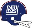 1975 NY Giants helmet