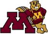NCAA-Big 10-MinnesotaGolden Gophers mascot logo