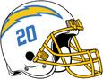 NFL-AFCW-2020-LA Chargers Helmet