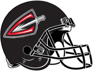 ArenaLeague-Cleveland Gladiators Black Helmet