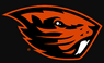 NCAA-PAC12-Oregon State Beavers logo-black