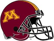 NCAA-Big 10-Minnesota Golden Gophers Helmet-Striped Black facemask