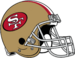 NFL-NFC-SF49ers 1988-1995 Helmet-Left Face.png