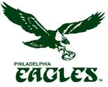Philadelphia Eagles Logo 1970-1973