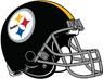 Pittsburgh Steelers helmet-grey facemask