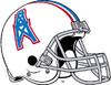 NFL-AFC-HOU-Oilers 1975-1980 Helmet