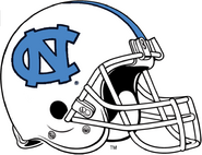 NCAA-ACC-UNC Tarheels White Helmet