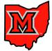 NCAA-MAC-Miami Redhawks state of OH logo