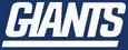 NFL-NFC-NYG-Alternate wordmark-Blue background