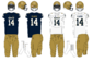 NCAA-AAC-Navy Midshipmen Uniforms