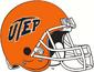 NCAA-C-USA-UTEP Miners Orange Helmet