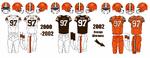 2000-2002 Cleveland Browns Jerseys