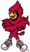 NCAA-ACC-2013-Louisville Cardinals mascot logo