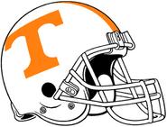 NCAA-SEC-Tennessee Vols helmet