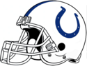 NFL-AFC-IND Colts Helmet-White Facemask-Right side