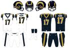 NFL-NFC-2009-2015 LA Rams Jerseys