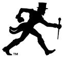 NCAA-ACC-Wake Forest Demon Deacons walking deacon black alt logo
