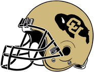 NCAA-Colorado Buffaloes Helmet-Right side