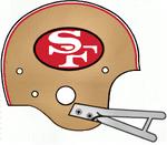 NFL NFC-SF49ers Gold Helmet-1964-76