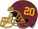 NFL-NFCE-2020-Washington Football Team Helmet-Right side