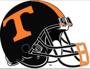 NCAA-SEC-Tennessee Vols black helmet