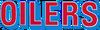NFL-Houston-TEN Oilers large Red-Columbia Blue wordmark