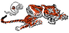 AFL-NFL-AFC-CIN-1968-1970 Bengals mascot alternate logo