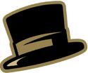 NCAA-ACC-Wake Forest Demon Deacons Top Hat alt logo