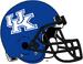 NCAA-SEC-UK Wildcats Helmet-Blue Plain-black facemask