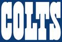 NFL-AFC-IND 1984-2001 Colts team name white wordmark-blue background