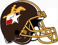 San Antonio Riders helmet
