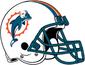 NFL-AFC-Helmet MIA 1997-2012 Helmet
