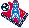 Tennessee Oilers 1997 Inauguaral Season logo