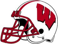 NCAA-Big 10-Wisconsin Badgers Helmet-Right Side
