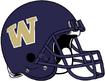 NCAA-Pac-12-Washington Huskies purple helmet