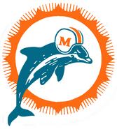 1966-1973 Miami Dolphins logo