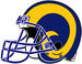 NFL-NFCW-Helmet-LA Rams-Yellow Horn Logo-Right face.png