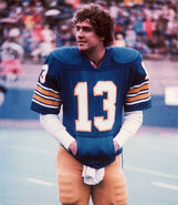 Dan Marino at college with the Pittsburgh Panthers