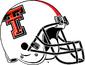 NCAA-Big 12-Texas Tech Red Raiders white Helmet
