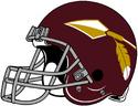 NFL-Helmet-WAS-1965-1968-Redskins Helmet-Right side