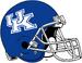 NCAA-SEC-UK Wildcats Helmet-Blue Plain